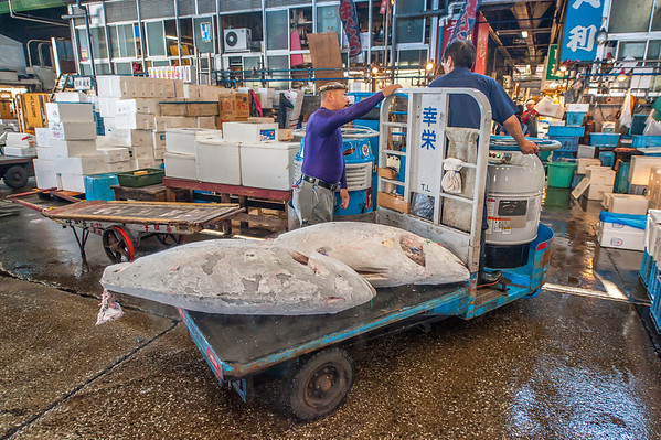 Tsukiji fish Marked Tokyo, September 2013