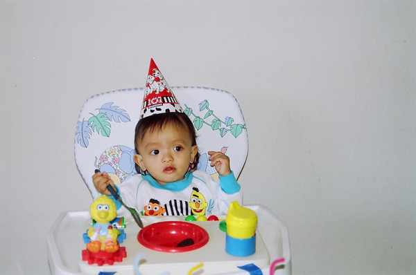 Nico's 1st Bday and after