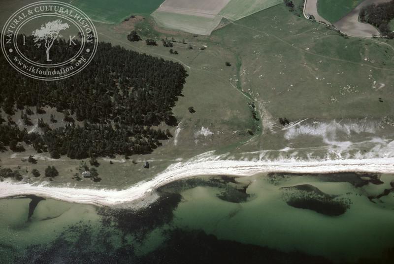 Klammersbäck and Verkaån, coastline between (1985).   LH.0015