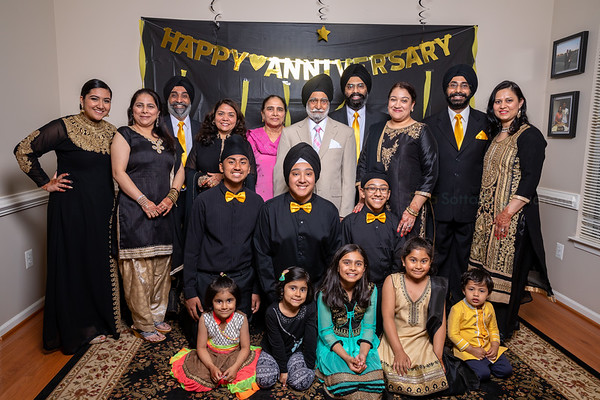 Rupinder Singh Parents 50th Anniversary