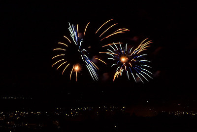 Carcassonne Fireworks 14th July