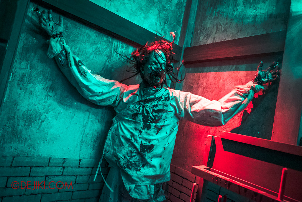 USS HHN8 Pagoda of Peril haunted house – Tormented