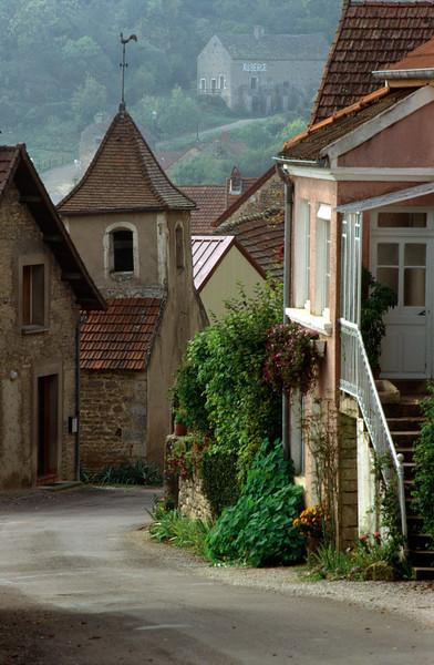 Burgundy's Countryside