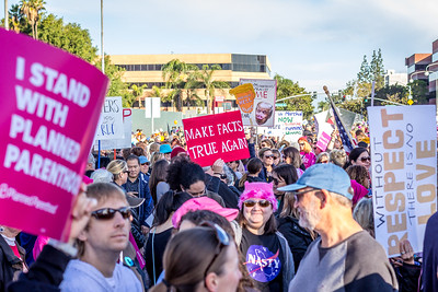 OC Women's March 2018
