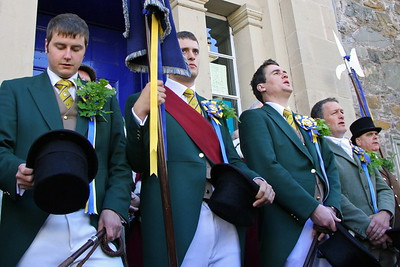 Friday  - Snuffing & Procession