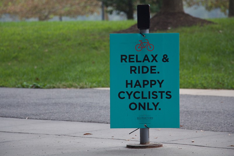 Happy Cyclists