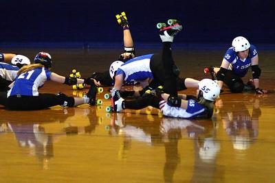 I5 Rollergirls vs. Jet Cadets