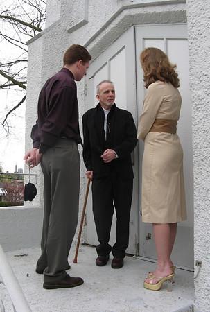 Austin and Leah Davies Wedding 21 April 2007