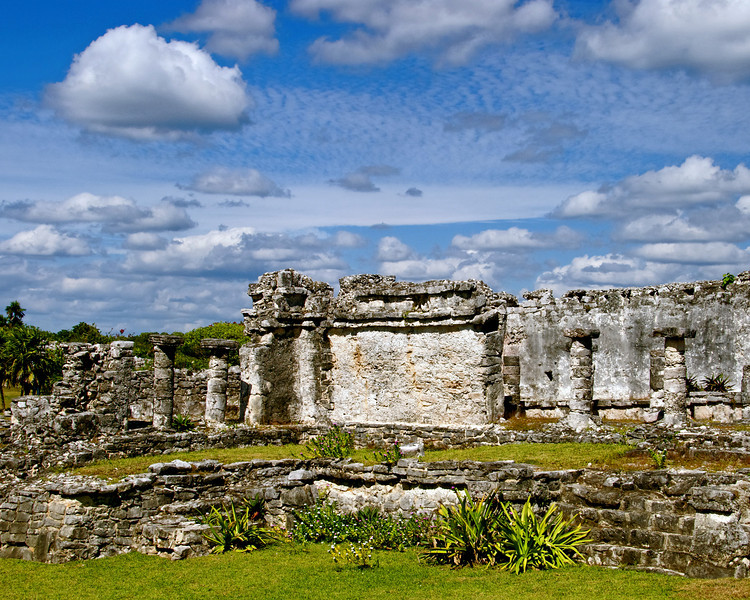 Aztec ruins - Mexico