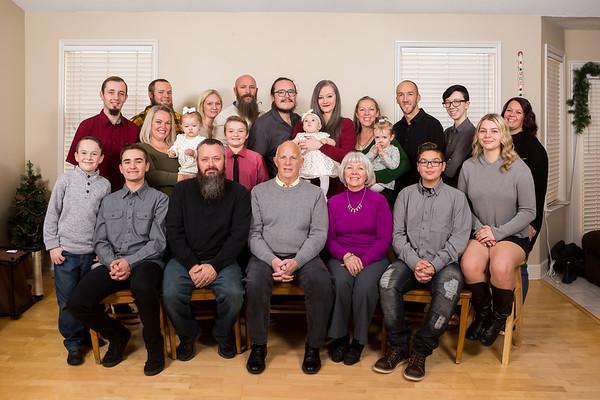 Natalie Butler extended family 2018