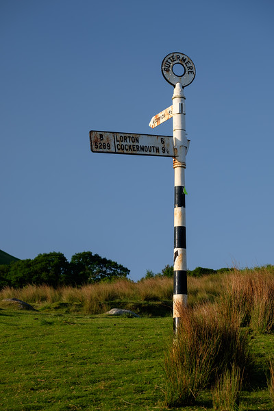 Buttermere Signpost