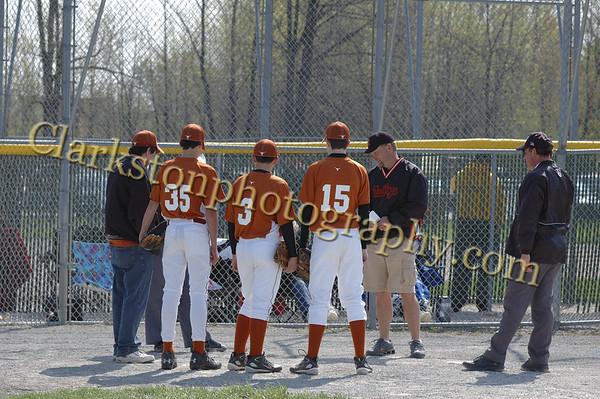 Longhorns vs. Mud Dogs 04-27-08