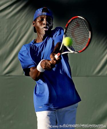 Photo Gallery: UF Men's Tennis vs. UCF, 1/22/10