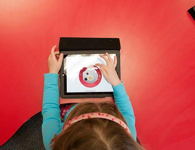 Kindergarten iPad day
