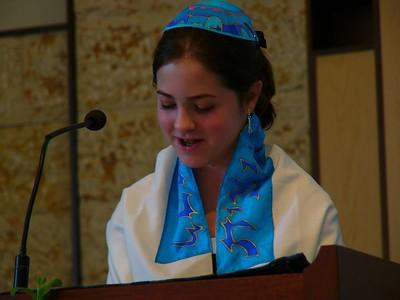 2004 Rachel's Bat Mitzvah, August