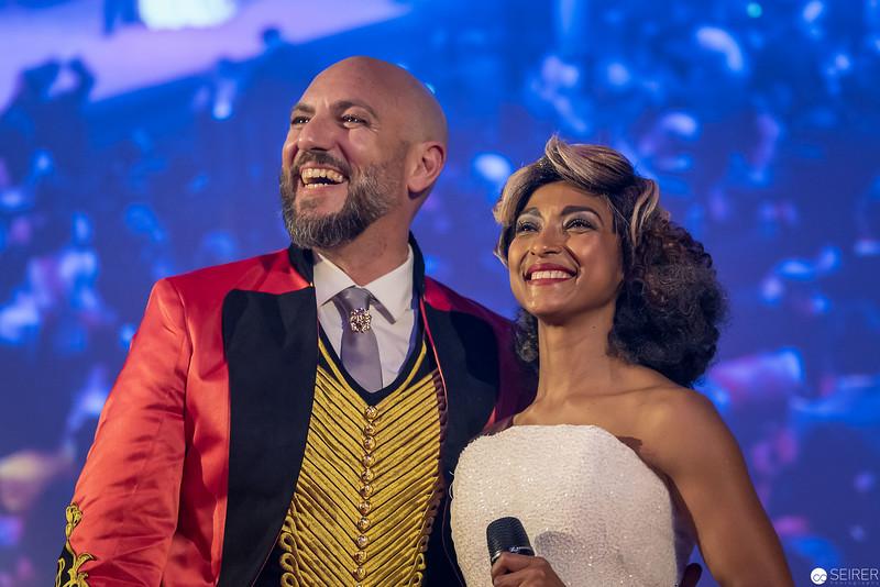 Nicolas Tenerani und Tertia Botha bei der Eröffnungsshow des Diversity Ball 2019