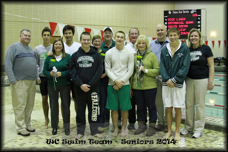 WC Boys Swimming vs Wayland