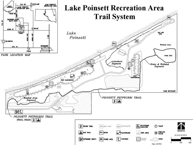 Lake Poinsett Recreation Area (Trail Map)