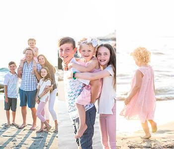Windansea Family Photographer - Sunset Beach Family Photographs in La Jolla July 2019 - Chesler Family