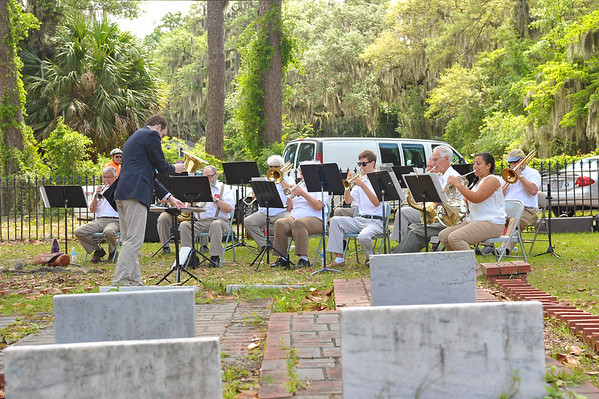 "OGCS Coastal Brass Choir ""Under the Oaks Concert 05-21-16"