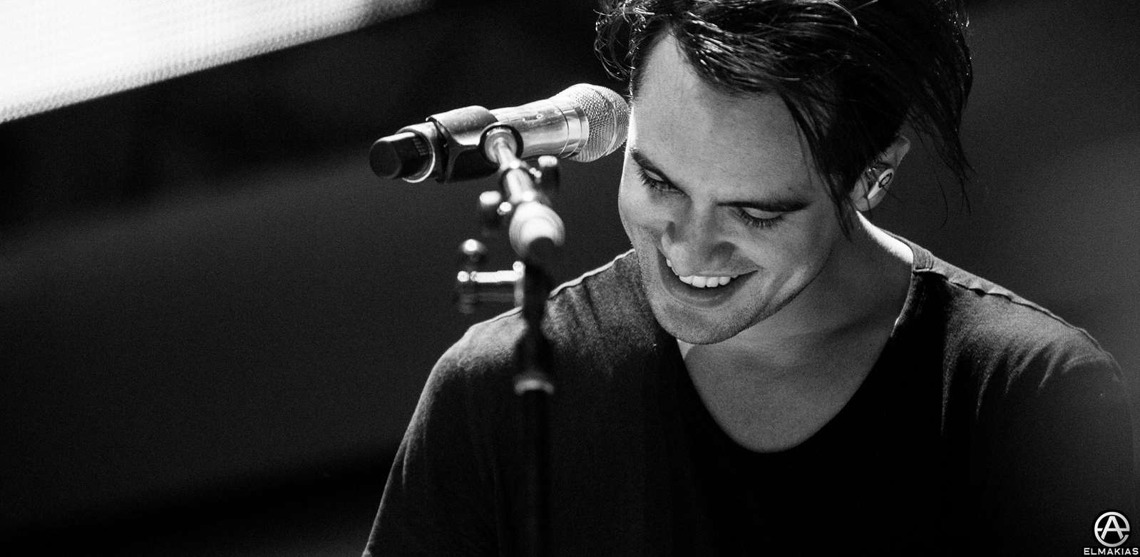 photo of Brendon Urie of Panic! At The Disco at KROQ Weenie Roast 2015 by Adam Elmakias