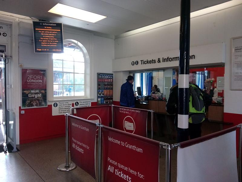 LNER Grantham Ticket Office