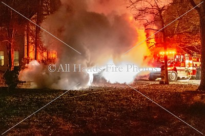 20181204 - Unincorporated Mount Juliet - Vehicle Fire