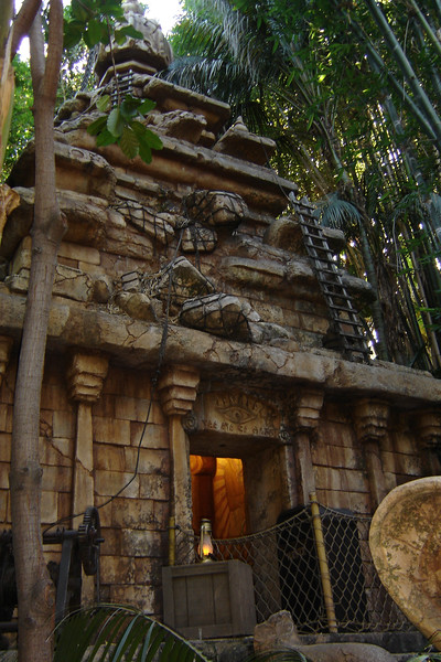I remember when the interior line for the Indiana Jones Adventure was part of the attraction...now adventurers spend most of the time waiting outside (unless they are holding a Fast Pass)and then run directly to the vehicles