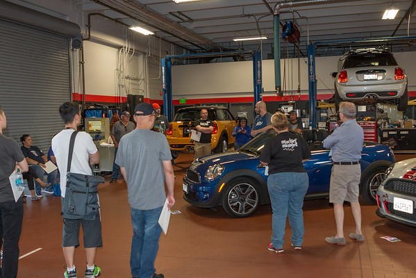 MINI Tech Day/Car Care Clinic 6/14/15