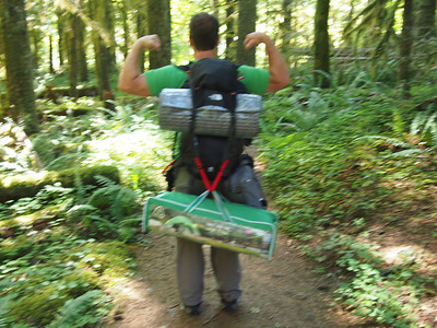 Backpacking Salmon River Trail