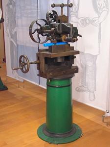 Examples of Equipment Utilized by Merrill (John Alexander at American Precision Museum, Bill McCarthy as equipment restorer)