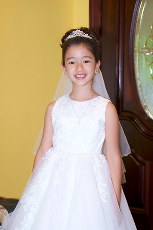 Isabella's 1st Holy Communion of 5/21/16