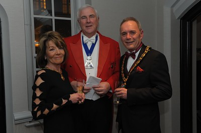 Chairman of East Herts Council Cllr Jeff Jones, Charity Civic Dinner, Hanbury Manor, 17.3.18