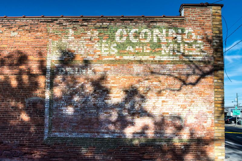 GA, Soperton - Coca-Cola Wall Sign