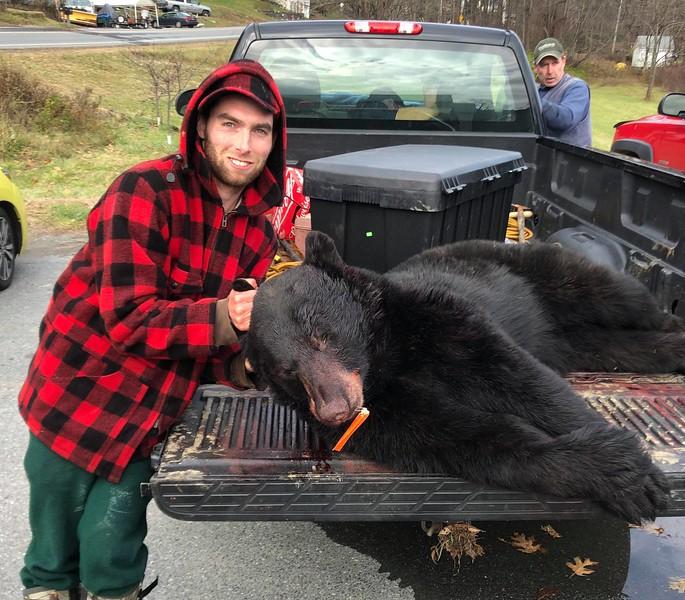 2018 - Zach Clark, Windham Co., 228 lbs.