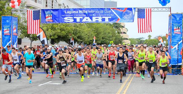 2018 Memorial Day  Half Marathon with 3/5 Battalion