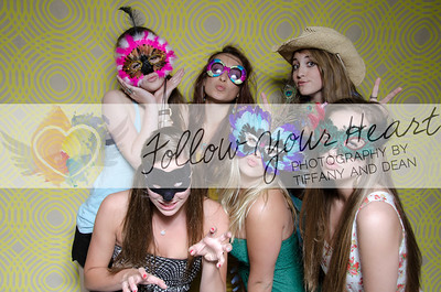 2013 Senior Launch Party | Photo Booth