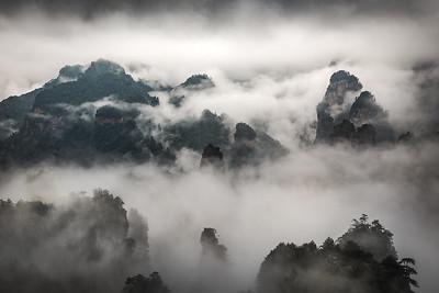 2018 - CHINA: ZHANGJIAJIE, TIANZI MOUNTAIN
