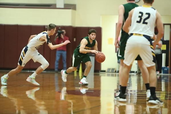 Bishop Brady Boys Basketball vs. Bow (Dec. 31, 2019)