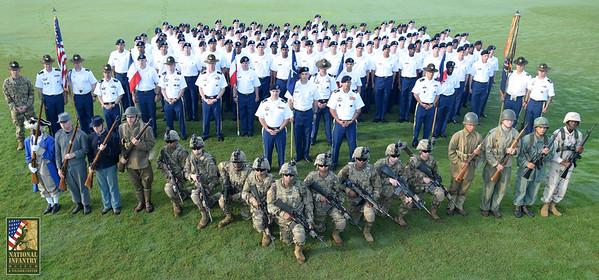 7-6-17 A/1-46 & D/1-46 Graduation Ceremony