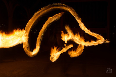Fire Dance Gasworks Park