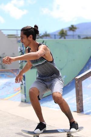 Maui Skate Park Spring Break