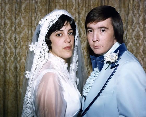 Frank & Sherry Wedding 12-27-1976