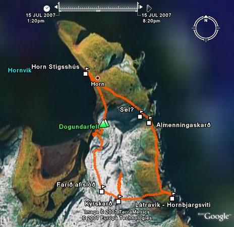 Dagur 2: Horn - Látravík