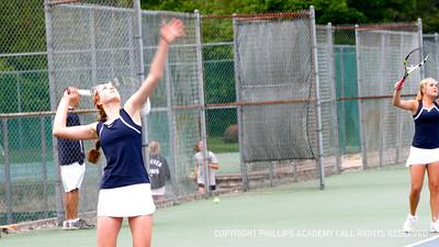 Girls Varsity Tennis vs Exeter 5.22.2013