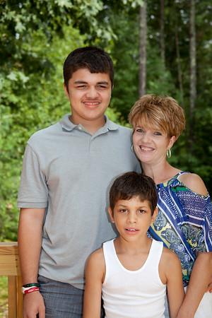 Cathy S Family 081912