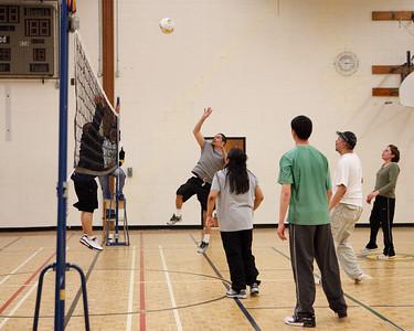 Volleyball 2009 April 16th Moosonee