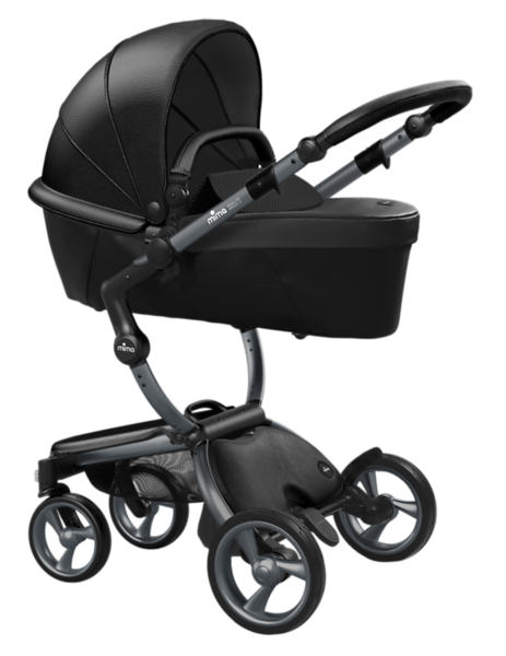 Mima_Xari_Product_Shot_Black_Flair_Graphite_Chassis_Black_Carrycot.png