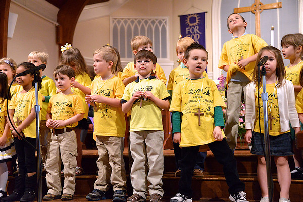 Sonshine 4yo choir 2013-03-17