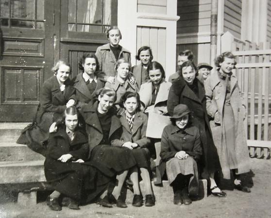 Margaretha Hayens fotoalbum från 1930-talet